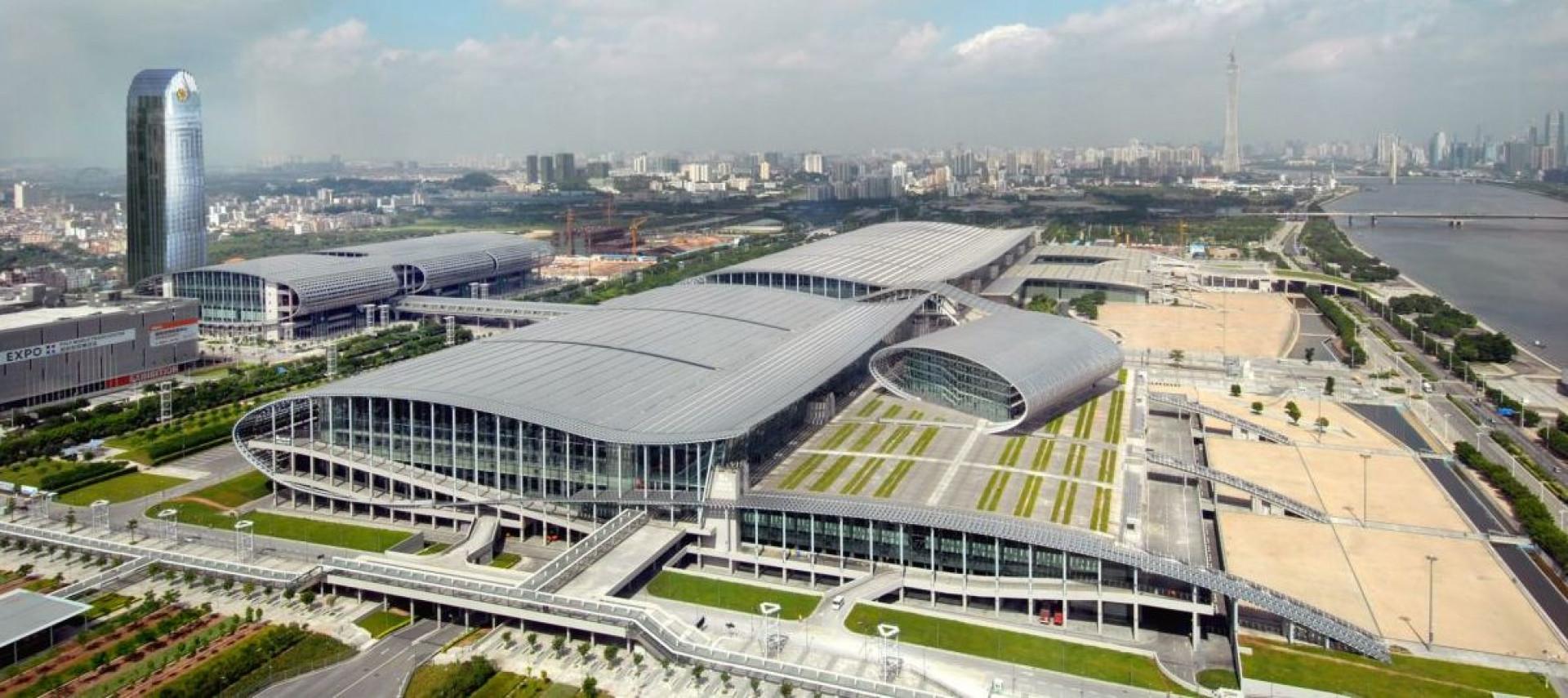 Hale wystawiennicze w Guangzhou. Fot. CIFF