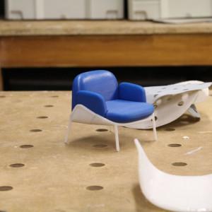 Model biały w 3D fot. Dominik Kowalski