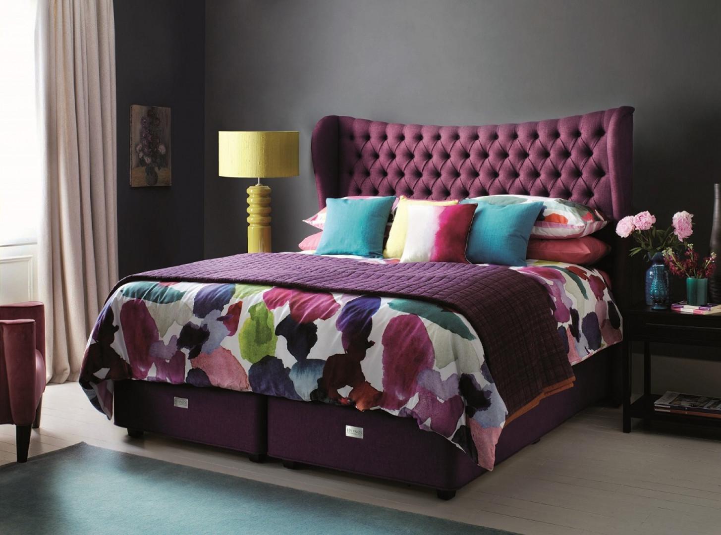 Łóżko kontynentalne. Fot. Hypnos Beds