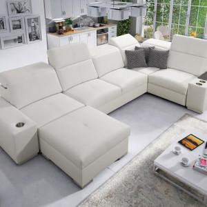 Narożna sofa modułowa Ricotti. Fot. Brattex