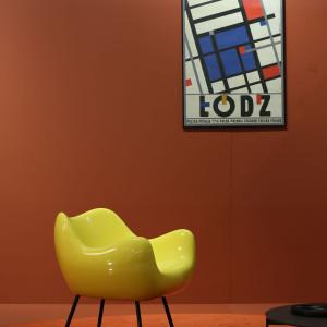 Fotel RM 58 marki Vzór. Projekt: Roman Modzelewski. Fot. Vzór