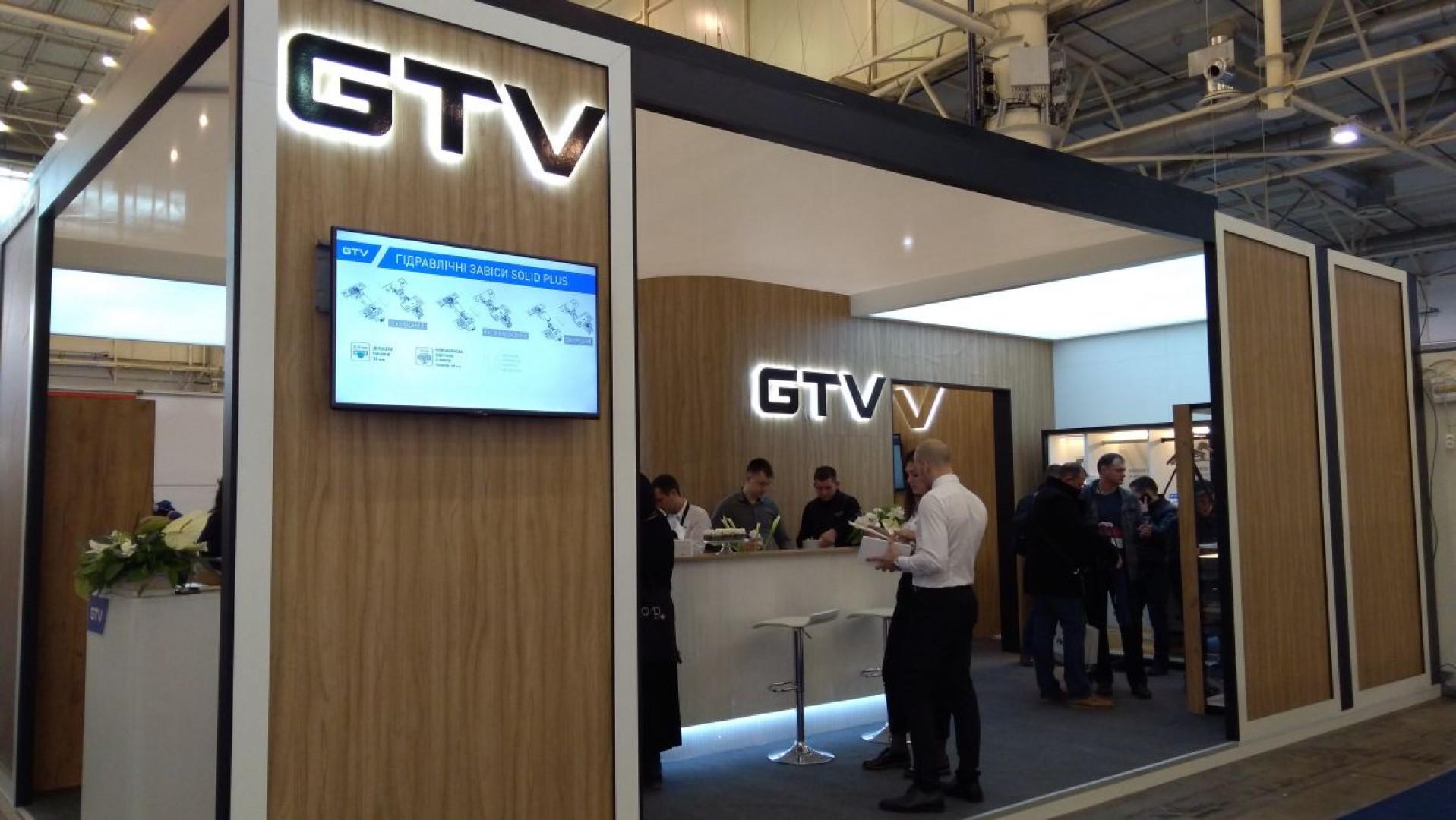 Stoisko firmy GTV na targach MTKT w Kijowie. Fot. GTV