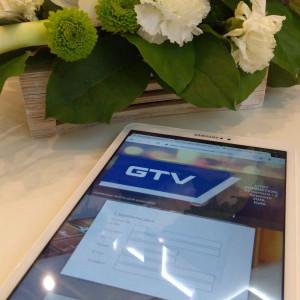 Na stoisku firmy GTV nie zabrakło wsparcia ze strony najnowszych technologii. Fot. GTV