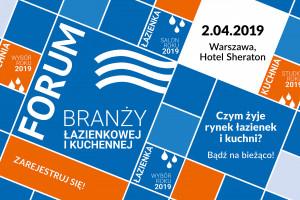 Forum Branży Łazienkowej i Kuchennej - agenda wydarzenia