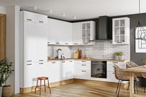 Frezowane fronty w kuchni – klasyka  w nowoczesnym wydaniu