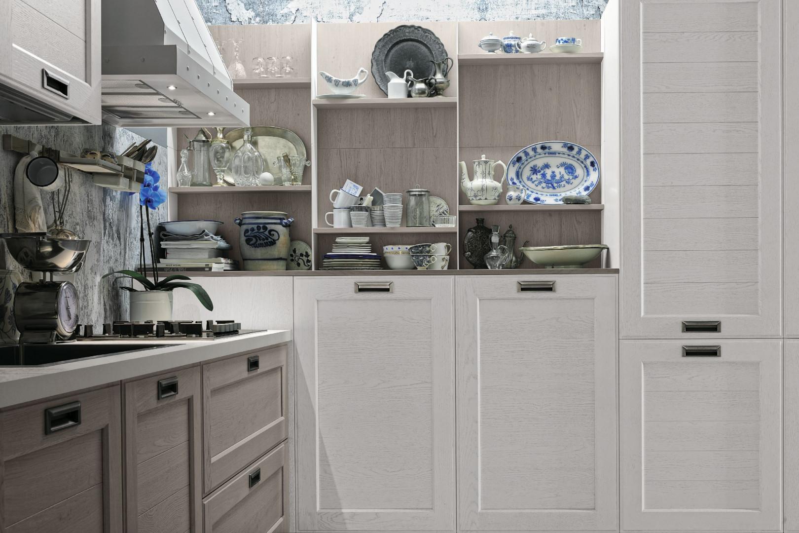 Wzornictwo Frezowane Fronty W Kuchni Klasyka W