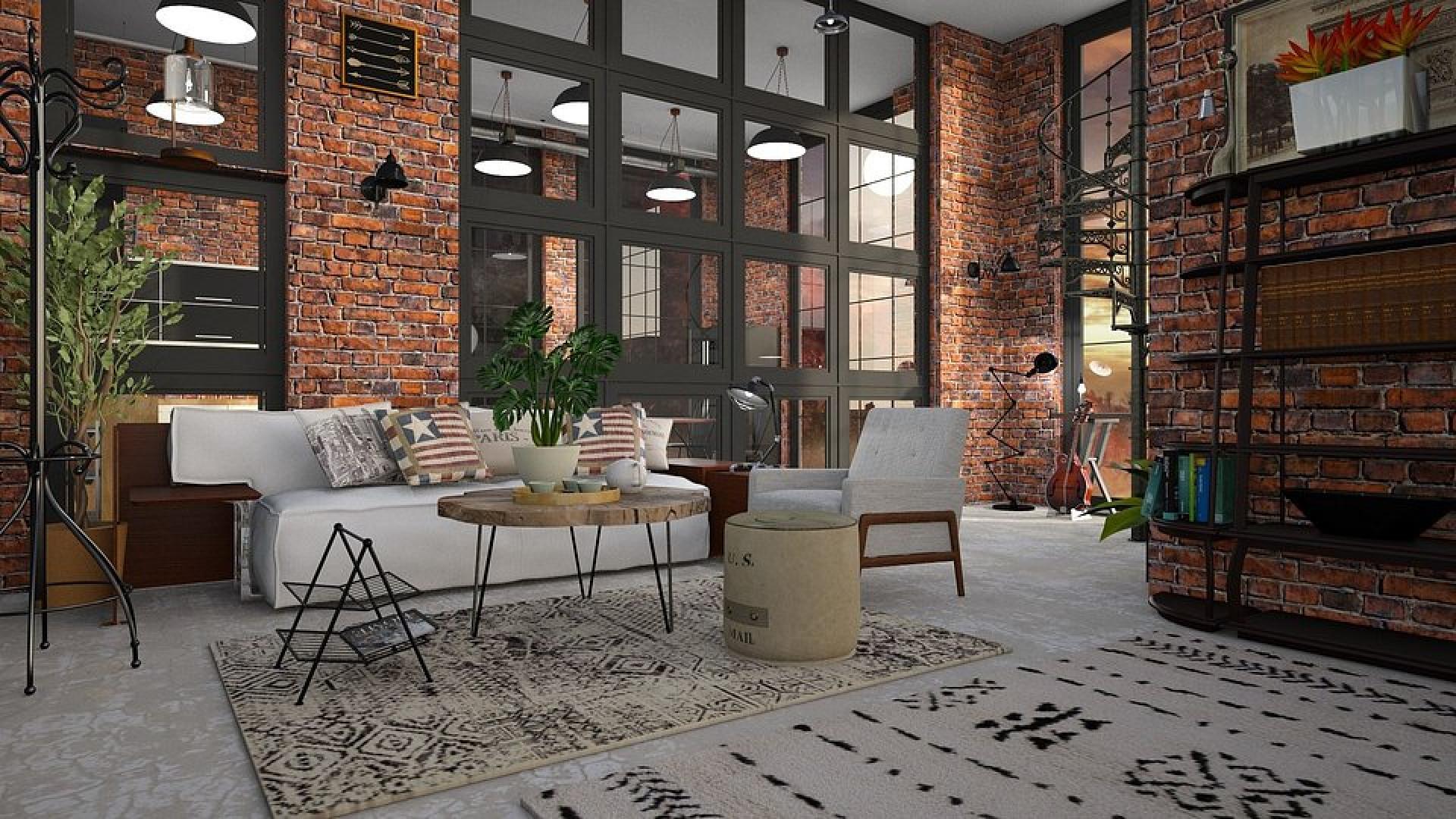 Współcześnie styl industrialny z powodzeniem możemy wprowadzić do tradycyjnych mieszkań, a nawet do kawalerek czy pojedynczych pomieszczeń. Fot. Materiały prasowe Publicum