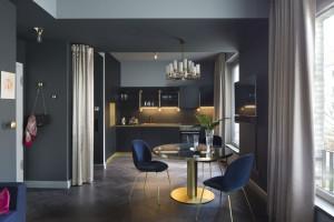 Połączenie stylu orientalnego i glamour – zobacz wnętrze wyjątkowego apartamentu!