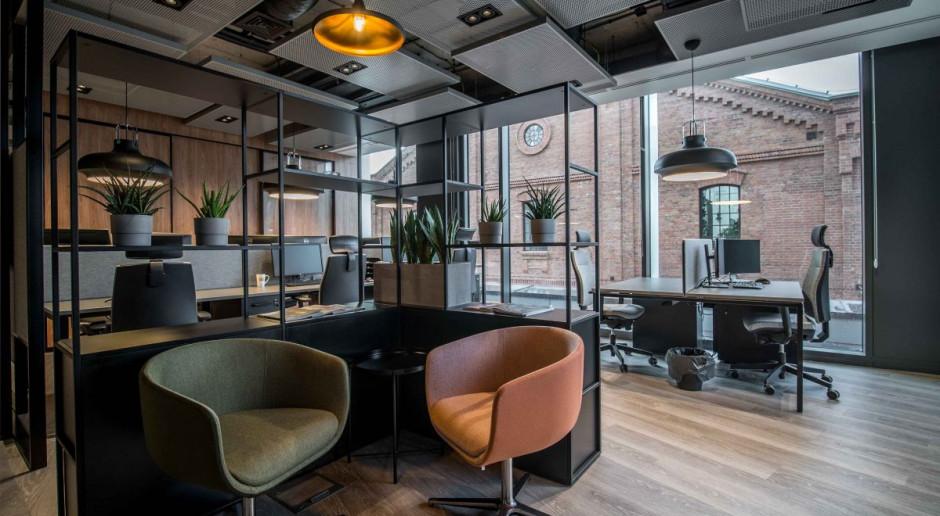 Aranżacja klimatycznego biura - zobaczcie niebanalne wnętrze na warszawskiej Pradze