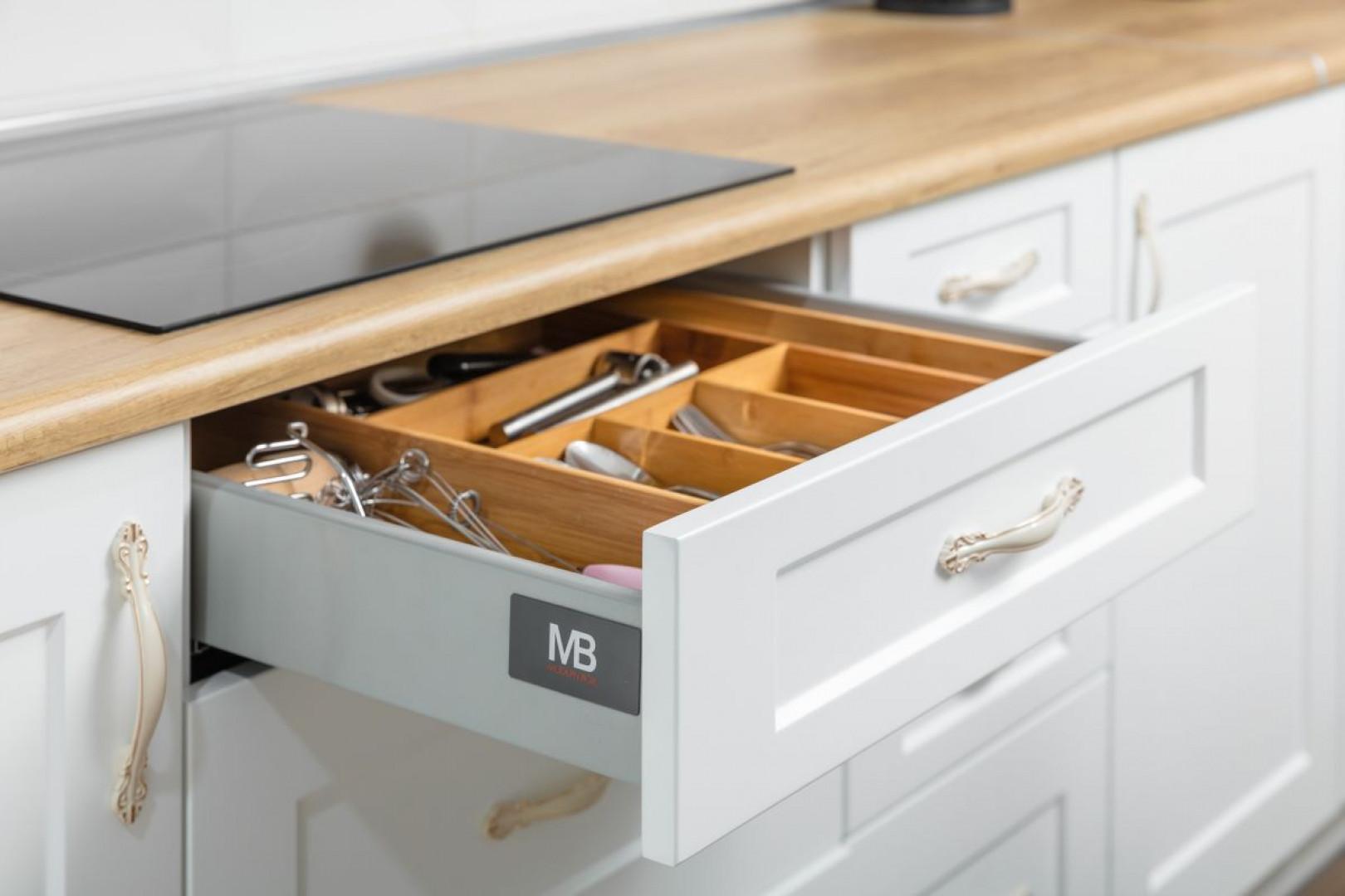 """Organizer w szufladzie """"Modern Box"""" firmy GTV. Fot. GTV"""