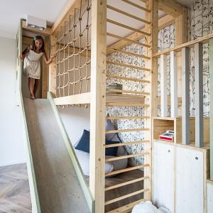 Apartament na Bielanach. Projekt: Pracownia Jacek Tryc