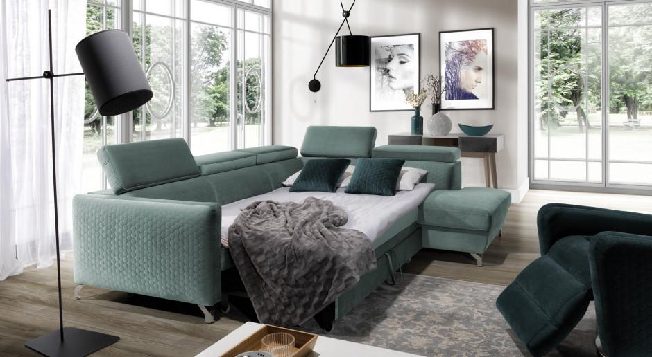 Meble do salonu - zobacz 15 sof, które zapewnią Ci komfortowy wypoczynek