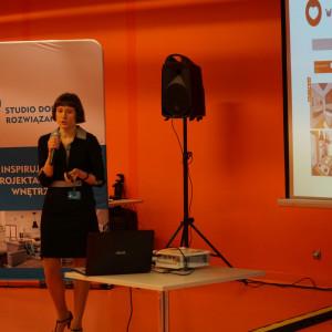 Anna Spalony, przedstawicielka firmy CAD Projekt K&A.