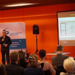 Łukasz Staśkiewicz z firmy Stan Design (partnera sprzedażowego WSC Graphisoft).