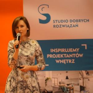 Wystąpienie eksperta w dziedzinie social mediów - Moniki Gawanowskiej.