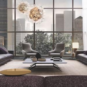 W dużej, dobrze oświetlonej przestrzeni najlepiej sprawdzą się meble o prostych formach. Fot. Poliform/Studio Forma 96