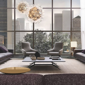 Meble do luksusowego apartamentu. Fot. Poliform/Studio Forma 96