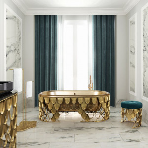 Luksusowa łazienka. Fot. Maison Valentina