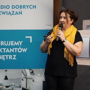 Barbara Łukasiak z firmy Muraspec