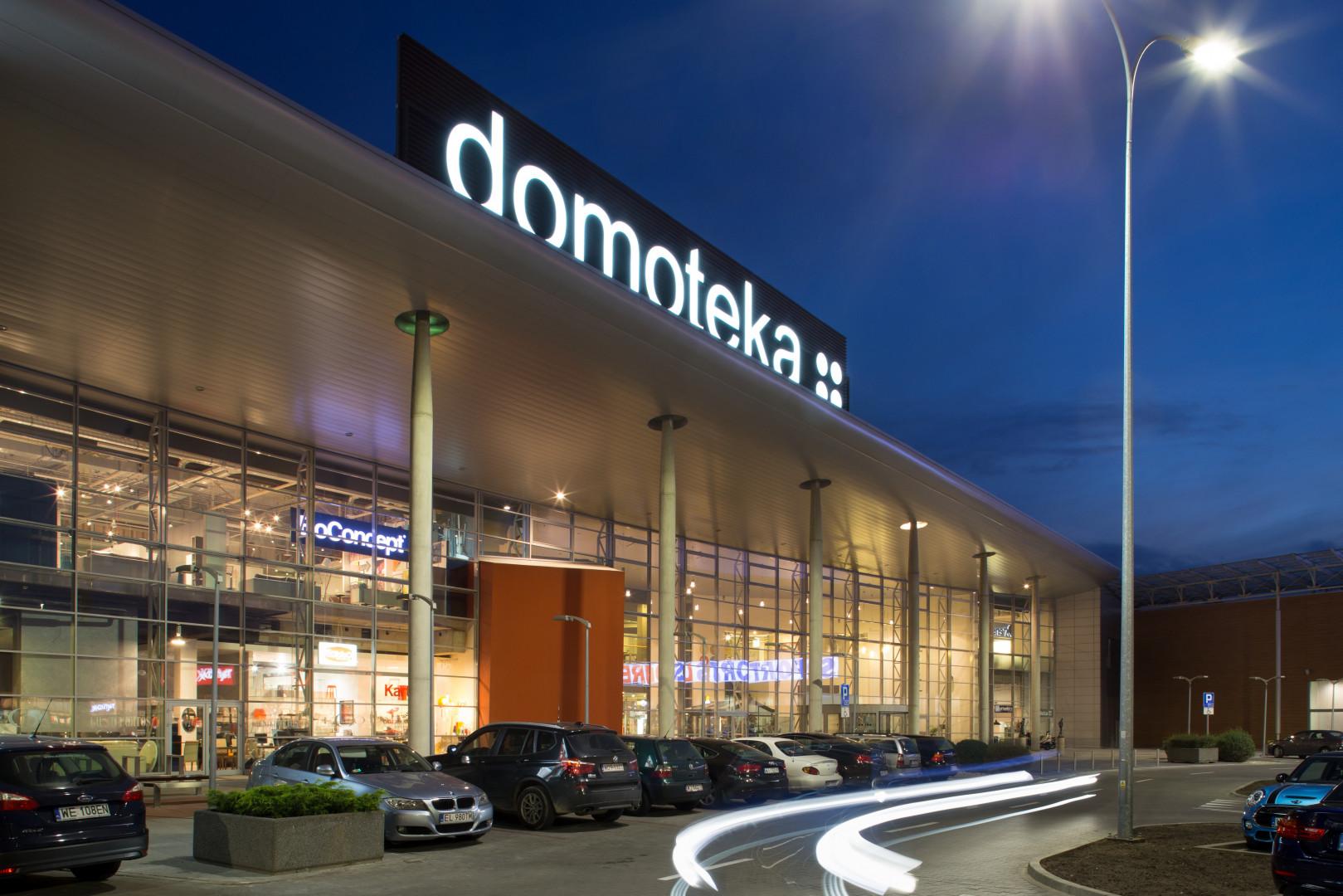 Centrum handlowe Domoteka. Fot. Domoteka