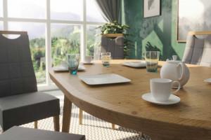 Jak umeblować jadalnię w małym mieszkaniu?