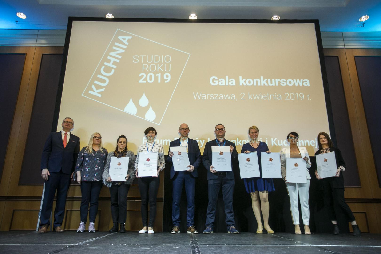 Gala konkursu Kuchnia - Studio Roku 2019.