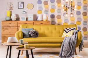 Wnętrze w stylu retro z nutą nowoczesności - jak je umeblować