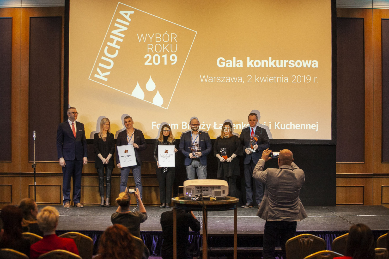 Laureaci konkursu Kuchnia - Wybór Roku 2019. Fot. PTWP