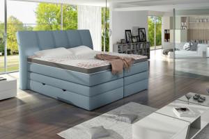 """""""Korfu"""" - łóżko o nieszblonowym designie"""