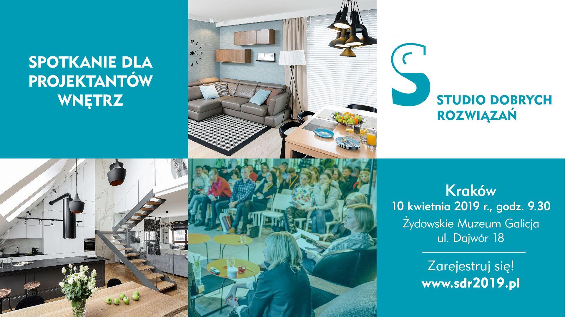 Studio Dobrych Rozwiązań w Krakowie - 10 kwietnia 2019.