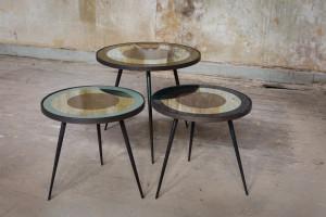 Stoliki z lustrzanym blatem
