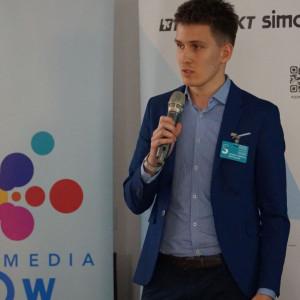 Bartosz Świderski z firmy TM SYS.