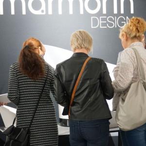 Stoisko firmy Marmorin Design.