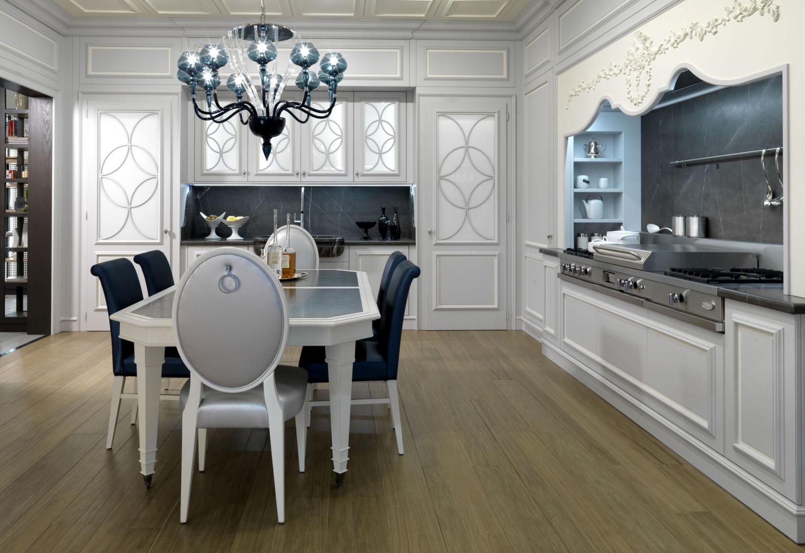 Urządzamy Kuchnia W Klimacie Glamour Postaw Na Luksus W