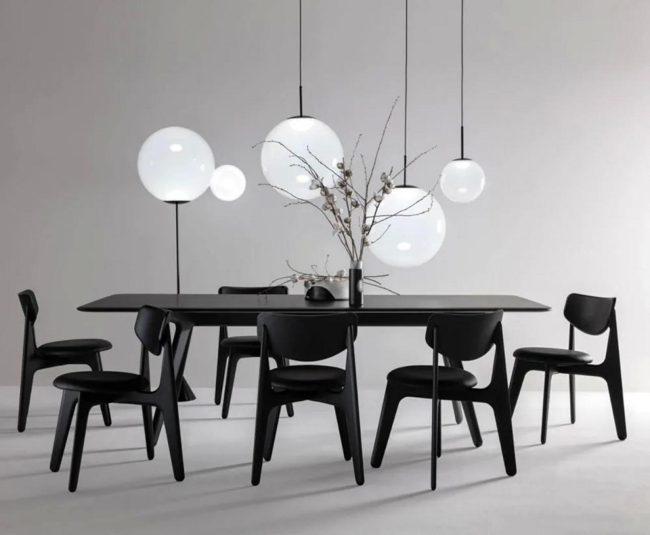 Krzesła Slab firmy Tom Dixon. Projekt: Tom Dixon. Fot. Tom Dixon