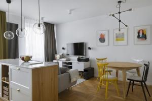 Przytulne i stonowane wnętrze - apartament na warszawskim Żoliborzu!