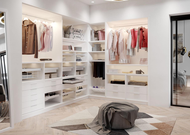 Garderoba Elite (GTV) to rozwiązanie pomagające w sprawnym zorganizowaniu przestrzeni przeznaczonej do przechowywania ubrań. Fot. GTV