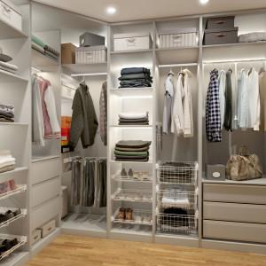 Garderoba Smart, biała