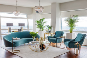 Design i technologia - zobacz aranżację apartamentu na Złotej 44