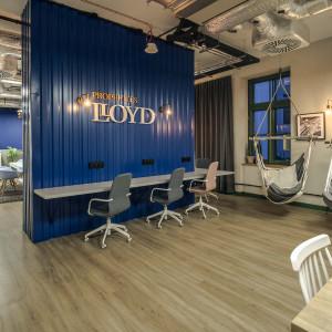 Siedziba Lloyd Properties. Realizacja Forbis Group