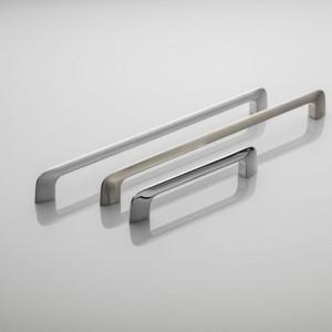 """Uchwyty z serii """"Milano"""" firmy GTV doskonale wpisują się w styl minimalistyczny. Fot. GTV"""