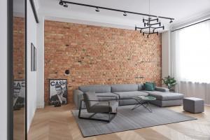 Designerskie meble i funkcjonalny układ – zobacz aranżację apartamentu w Poznaniu!