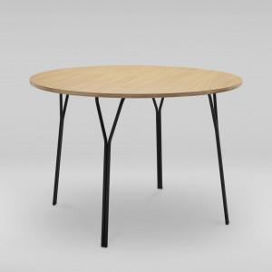 Stół okrągły SHARK. Projekt Tomasz Augustyniak dla Marbet Style