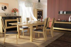 Ergonomiczne krzesła do salonu i jadalni