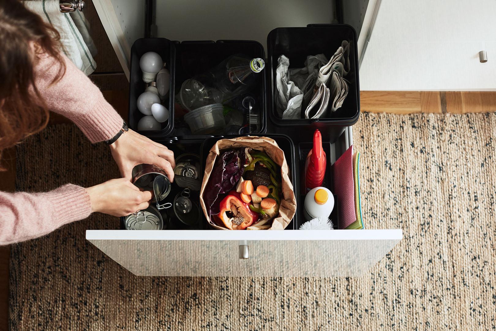 Rozwiązania IKEA pozwalające dbać o środowisko. Fot. IKEA