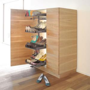 Szafka na buty z systemu Pleno. Fot. Peka