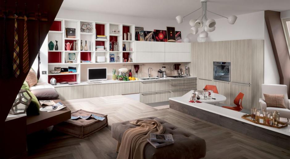 Kuchnia jak salon - stwórz harmonijne wnętrze