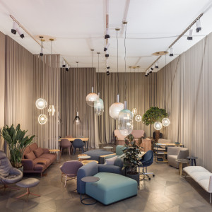 Comforty na Salone del Mobile 2019. Fot. Ernest Wińczyk