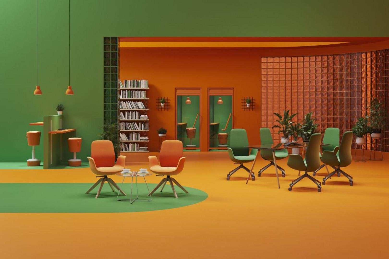 Krzesła Ellie Pro firmy Profim. Projekt: ITO Design. Fot. Profim