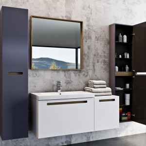 Meble łazienkowe z kolekcji SENSO, marka Defra. Fot. Defra